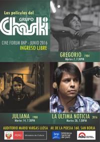 Las películas del Grupo Chaski